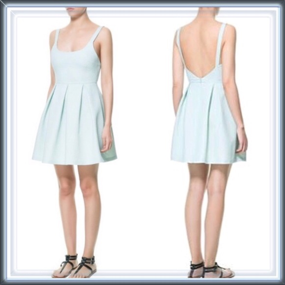 85dc0798e Zara Dresses | Cheetah Jacquard Skater Dress | Poshmark
